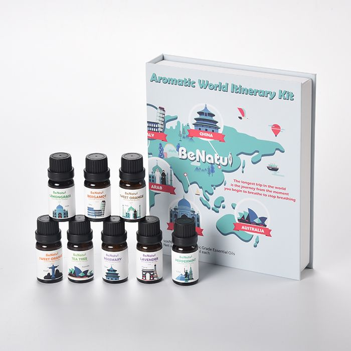 Aromatic world essential oil 8-pack suit