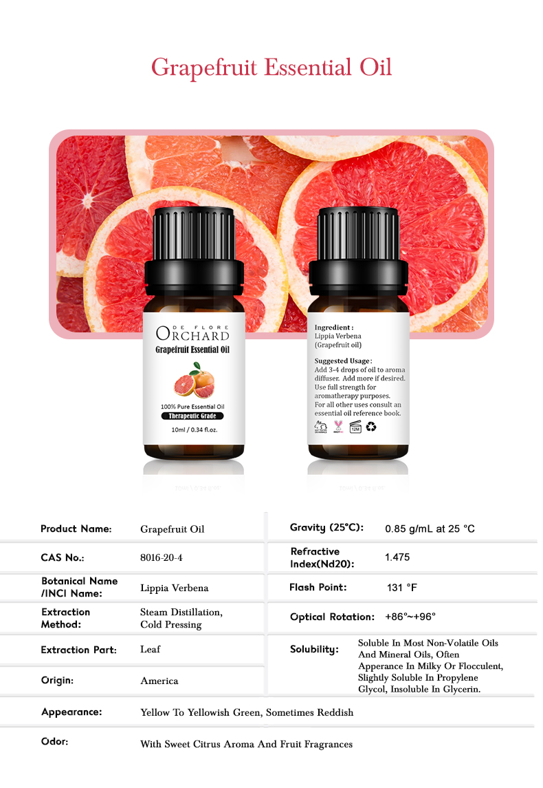 10ml-Grapefruit Oil